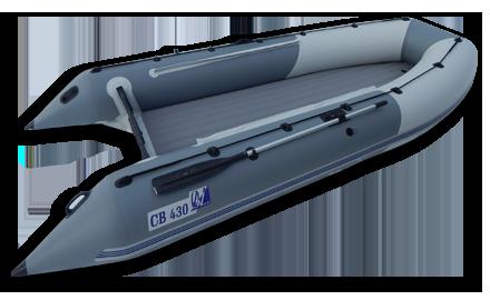 Надувная моторная лодка нднд СВ430